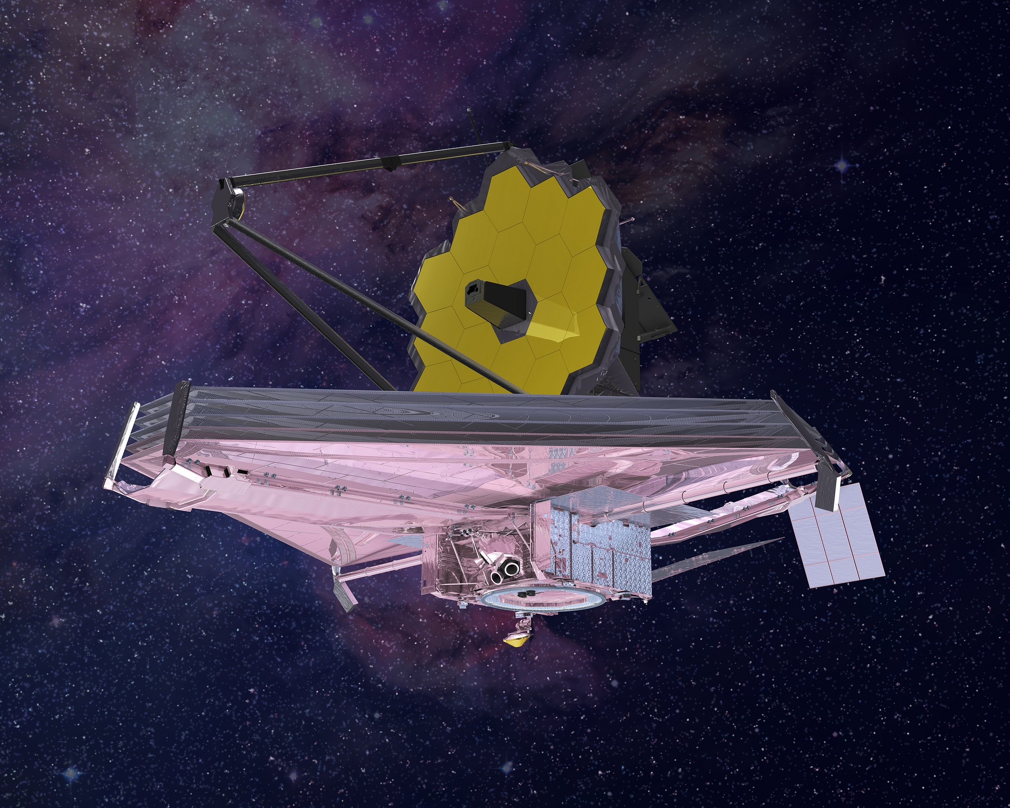 James Webb Space Telescope: Influence at the speed of light